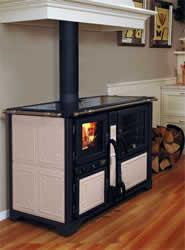 Riscaldamento for Caldaie a legna fiamma rovesciata arca